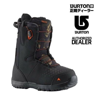 【特典あり】2019 BURTON CONCORD SMALLS BOYS BOOT BLACK/CAMOバートン キッズユース ブーツ