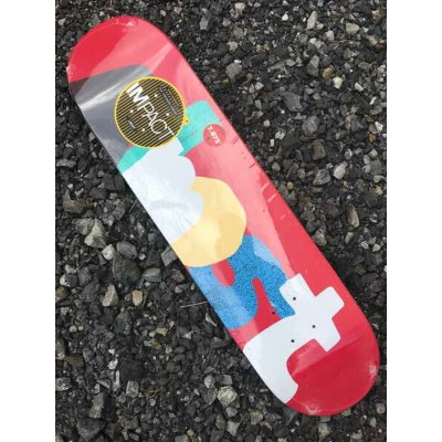 【Almost】7.75X31.1 YURI FACCHINI ORGANICS IMPACT LIGHT Skateboard Deck オールモスト スケートボード デッキ