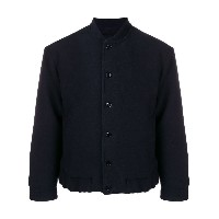 Mp Massimo Piombo buttoned bomber jacket - ブルー