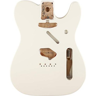 フェンダー Fender Mexico 純正パーツ 998006705 Telecaster SS Alder Body Vintage Bridge Mount, Olympic White ...