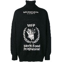 Balenciaga World Food Programme セーター - ブラック
