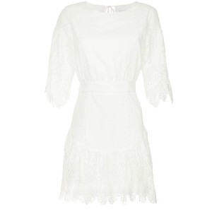 Suboo Babylon mini dress - ホワイト