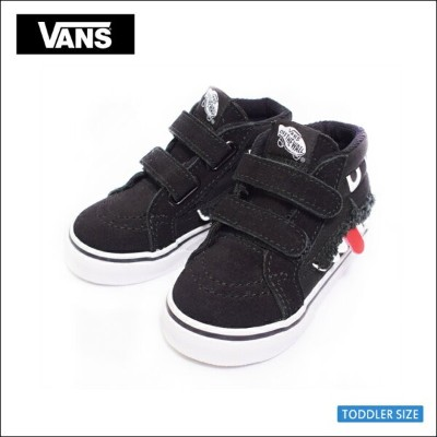 VANS TODDLER FA'18バンズ トドラー【VN0A348JU4Q】SK8-MID REISSUE V(Monster Face) Black/True Whiteスケートミッドリイシュー...