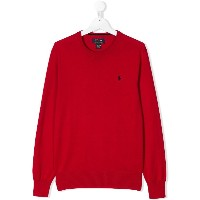 Ralph Lauren Kids TEEN Big Pony sweater - レッド