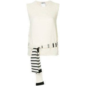 Chanel Vintage Sleeveless Tops - ホワイト