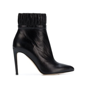 Chloe Gosselin gathered ankle boots - ブラック