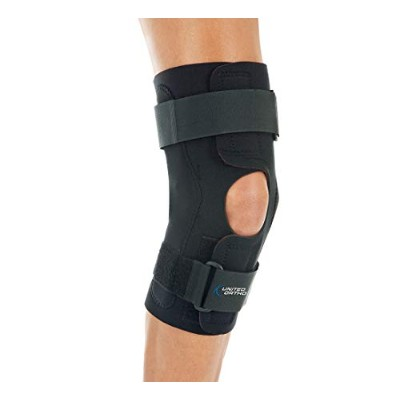 United Ortho Health-Grade Wrap Around Hinged Knee Brace, 3XL by United Surgical