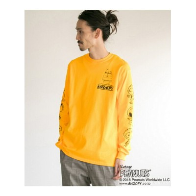 [Rakuten BRAND AVENUE]VOTE MAKE NEW CLOTHES HOUSE LONG-SLEEVE TEE URBAN RESEARCH アーバンリサーチ カットソー...