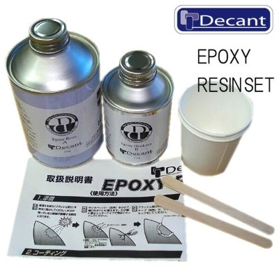 Decant Epoxy Resin Set / デキャント エポキシ レジン セット【返品・交換不可】
