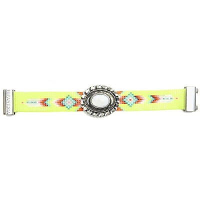 Bracelet Hipanema Neon yellow Taille L