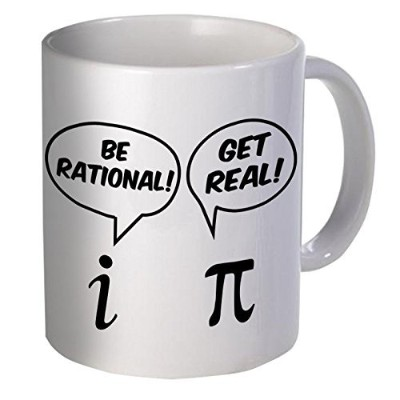 Be Rational、Get Real 11オンス面白いコーヒーマグ