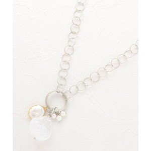 【SOFUOL(ソフール)】 リングチェーンネックレス OUTLET > アクセサリー > ネックレス シルバー
