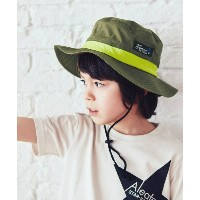 【3can4on(Kids)(サンカンシオン(キッズ))】 アドベンチャーハット OUTLET > 帽子 > ハット オリーブグリーン