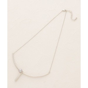 【SOFUOL(ソフール)】 チューブアーチネックレス OUTLET > アクセサリー > ネックレス シルバー
