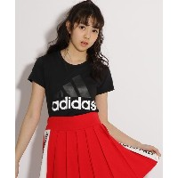 【PINK-latte(ピンク ラテ)】 adidas ビッグロゴTシャツ OUTLET > PINK-latte > トップス > Tシャツ ブラック