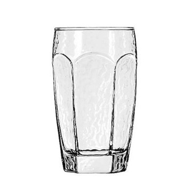 """Libbey Chivalry飲料、メガネ、tumbler-style 12oz、5–1/ 4"""" Tall–Includes 36glasses perケース。"""