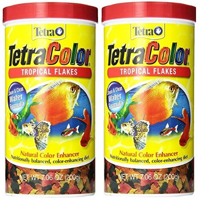 Tetracolor Tropical Flakes 14.12 - Ounce オレンジ 679257-2PK-PHIL