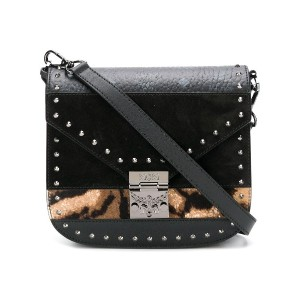 MCM Medium Patricia Shoulder Bag - ブラック