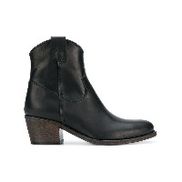 Via Roma 15 cowboy ankle boots - ブラック