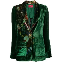 F.R.S For Restless Sleepers floral print blazer - グリーン