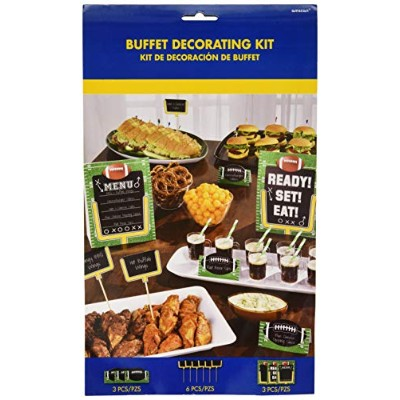 Football Buffet Decoratingキット12pc