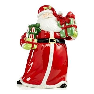 Certified International Christmas Presents 12.5 Santa Cookie Jar by Certified International