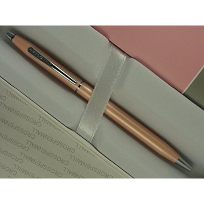 Cross Century Classic Pearlescent Pink 2014 Limited Edition Executive Companionl Pen and Matching...