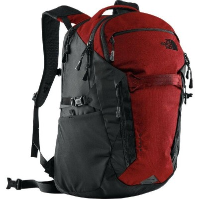 (取寄)ノースフェイス サージ 31L バックパック The North Face Men's Surge 31L Backpack Rage Red Ripstop/Tnf Black