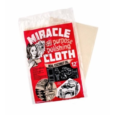 Miracle Cloth Extra Large All Purpose Polishing Towel 9x12 Real Coconut Oil by Miracle Cloth