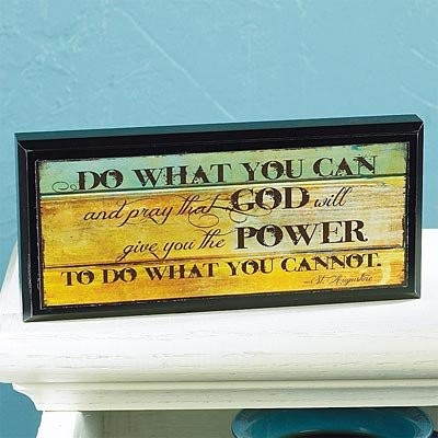 Abbey押しMini Inspirations Plaque–Do What You Can–インスピレーションFaith Blessing Spirit 56185u