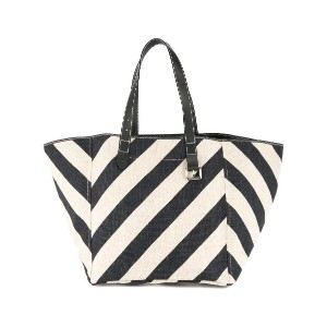 JW Anderson striped shopping tote - ブルー