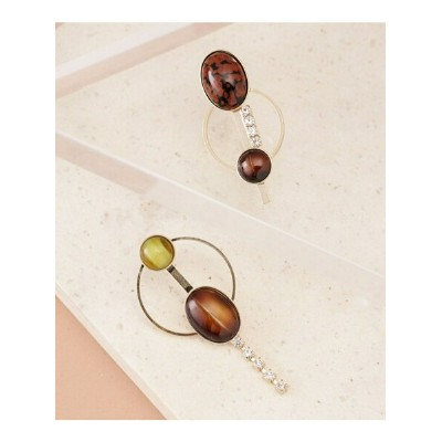 [Rakuten BRAND AVENUE]【SALE/10%OFF】EARTH hoop earring ADER.bijoux ナノユニバース アクセサリー【RBA_S】【RBA_E】【送料無料】