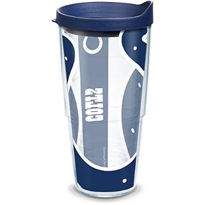 Tervis nflフタ付きラップタンブラー 24-Ounce クリア 1085200