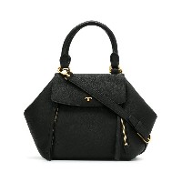 Tory Burch trapeze shaped tote - ブラック