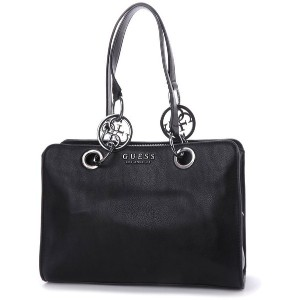 【SALE 30%OFF】ゲス GUESS ALANA GIRLFRIEND SATCHEL (BLACK) レディース