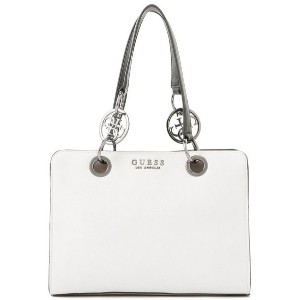 【SALE 30%OFF】ゲス GUESS ALANA GIRLFRIEND SATCHEL (CHALK MULTI) レディース