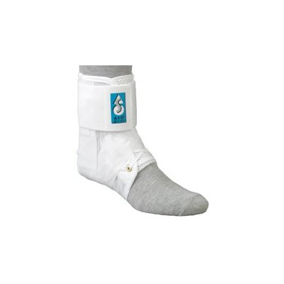 Med Spec ASO Ankle Stabilizer Orthosis EVO, White, Small by MedSpec