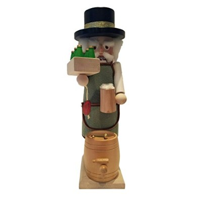 Steinbach Musical Brewmaster Beer Lover German Hand Made Christmas Nutcracker Collectible
