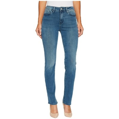 マーヴィ ジーンズ レディース デニムパンツ ボトムス Kendra High-Rise Straight in Light Foggy Blue Tribeca Light Foggy Blue...