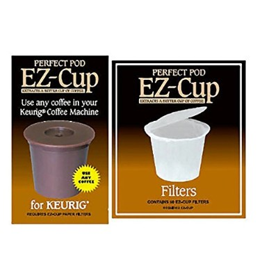 ez-cup for KeurigコーヒーマシンW / 50 EZ Cup Filters