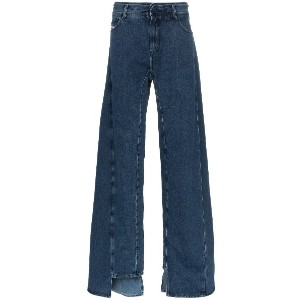 Diesel Red Tag decay wide leg jeans - ブルー