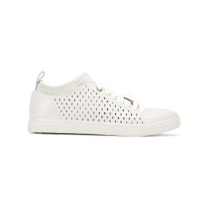 Vivienne Westwood perforated lace-up sneakers - ホワイト