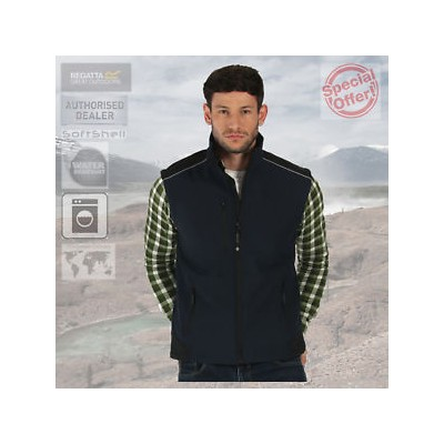 【送料無料】キャンプ用品 レガッタプロ¥regatta mens professional water repellent softshell bodywarmer gilet rrp 50