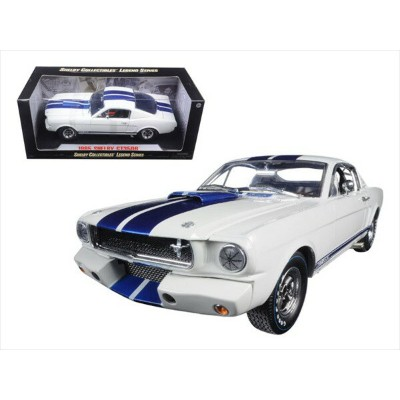 1/18 SHELBY COLLECTIBLES☆1965 シェルビー GT350R  白/青【限定モデル】