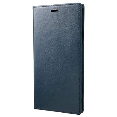GRAMAS Italian Genuine Smooth Leather Book Case for New iPhone XS Max