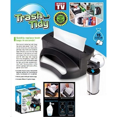 Trash Tidy Garbage Bag Dispenser and Organiser