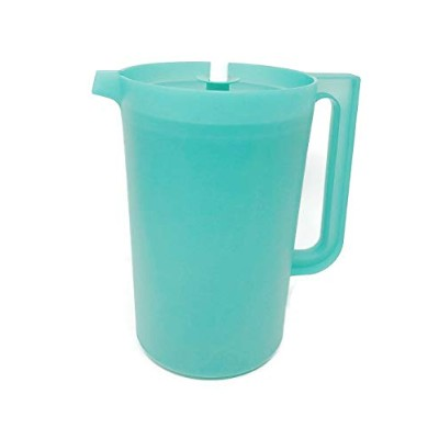 Kitchenware Classic 3.8l Size Pitcher with Push Button Seal - Green