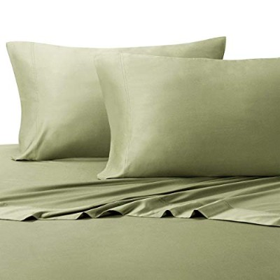 (King, Sage) - ABRIPEDIC TENCEL SHEETS, Silky Soft and Naturally Pure Fabric, 100% Woven Tencel...