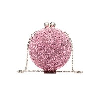 Marzook Crystal Embellished Sphere Clutch - ピンク