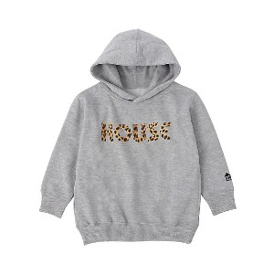 【SALE(伊勢丹)】 IN THE HOUSE  HOUSE KIDS ANIMAL HOODIE グレー/レオパード 【三越・伊勢丹/公式】 キッズファッション~~その他